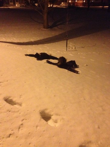 Snow Angels! Bozeman, MT
