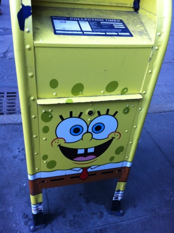 NYC post box