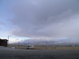 Snowstorms rolling into Helena, MT