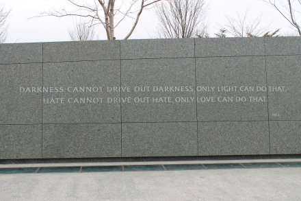 Martin Luther King memorial '14