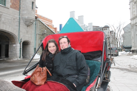 Horse drawn Carriage ride around Quebec City