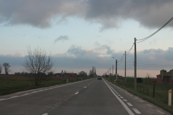 Driving through Belgium