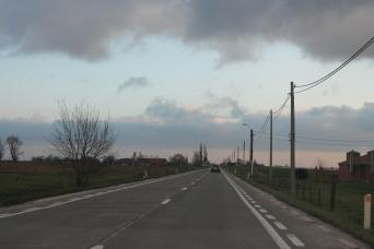 Driving through Belgium