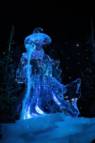 Hobbit themed Ice Sculpture show