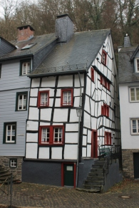 Traditional houses in Monschau