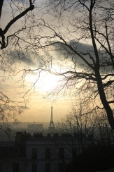 Eiffel Tower glimpses