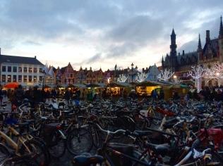 Bruges Christmas Markets in the Medi-evil centre