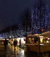 The famous Bruges Christmas Markets