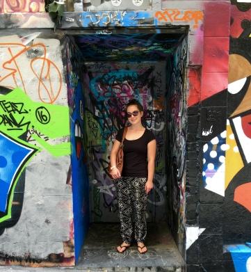 Pee-scented wall dwellings.